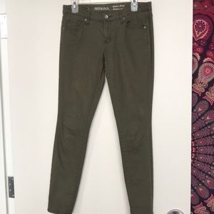 Cargo Green Jeans